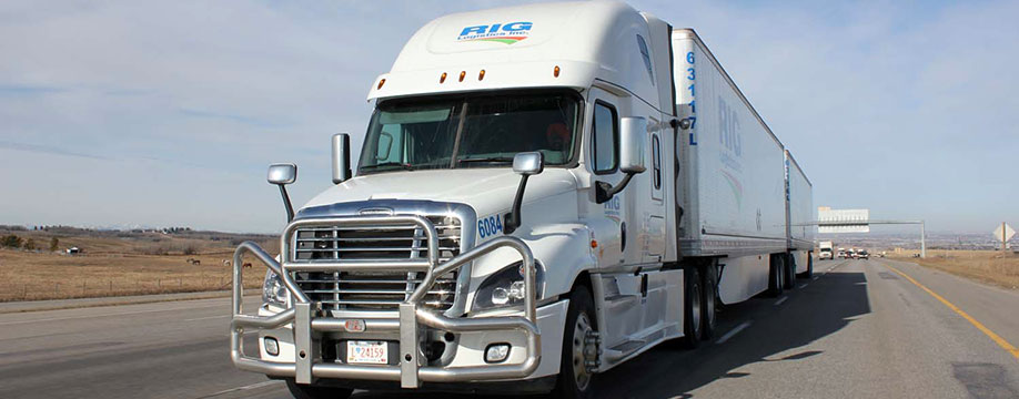 RIG Logistics Trucking Calgary, AB - Trucking Services: Dry Vans