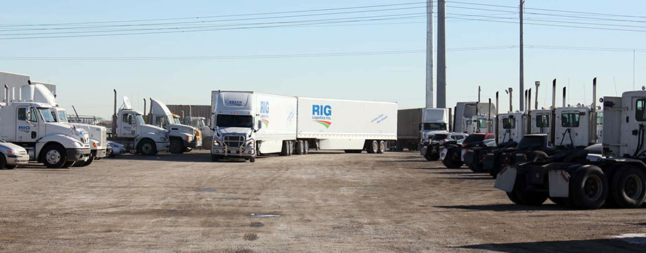 RIG Logistics Trucking Calgary, AB - Trucking Services: Logistics