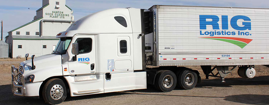 RIG Logistics Trucking Calgary, AB - Trucking Services: Food Service